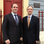 Killian McLaughlin follows his father's 'distinguished' footsteps into law